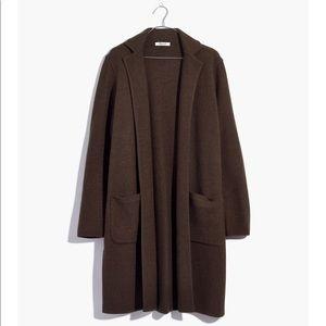 Madewell sweater cardigan coat size M NWT